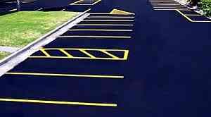 line painting